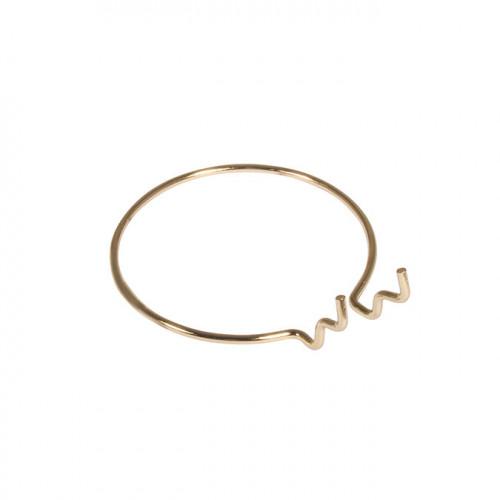 Fixation ronde en métal Pin & Peg - 10 cm