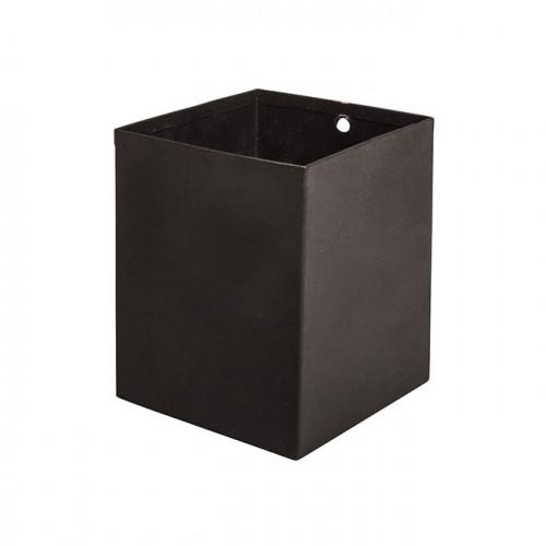 Pot carré en métal Pin & Peg - 8 x 8 x 10 cm