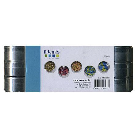 Boîtes en métal - 12 pcs