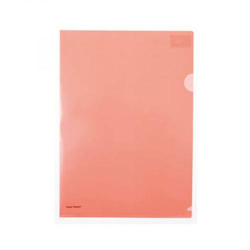 Chemise - Orange fluo - 22 x 31 cm