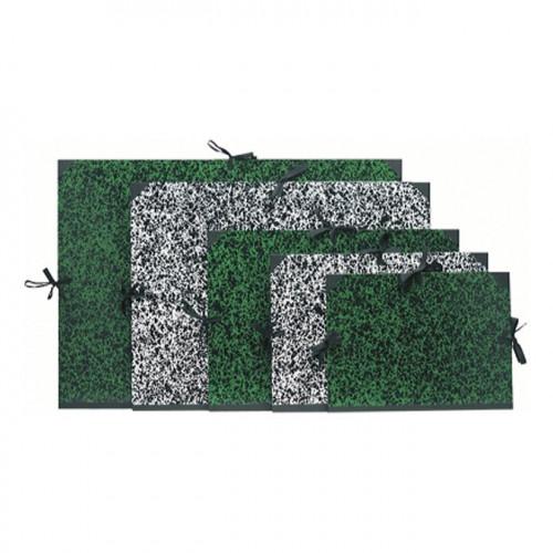 Carton de rangement pour papier Annonay A4 26x33 cm- vert