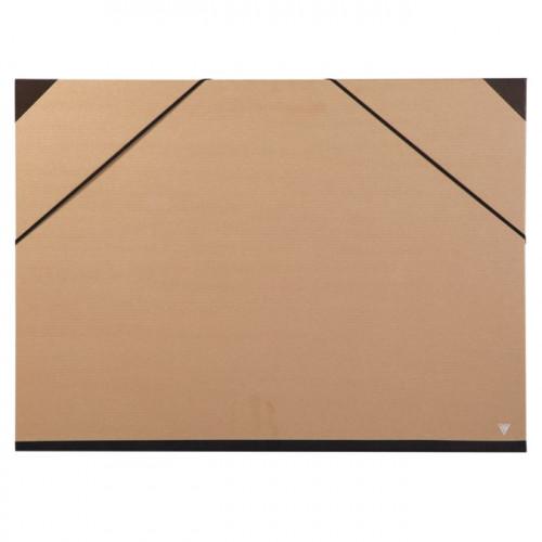 Carton de rangement pour papier 32x45 cm - Kraft brun
