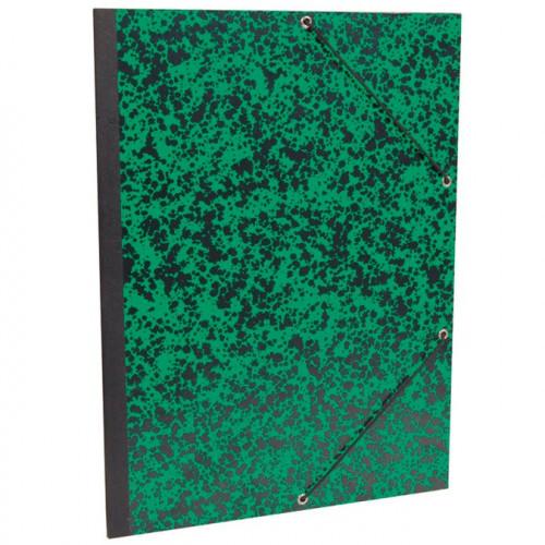 Carton de rangement pour papier Annonay 32x45 cm - Vert