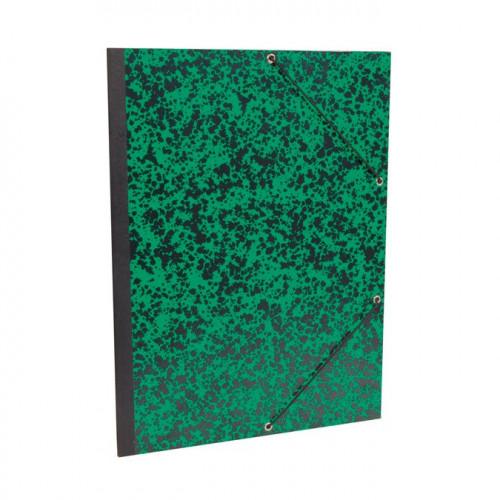 Carton de rangement pour papier Annonay 27x33 cm - Vert