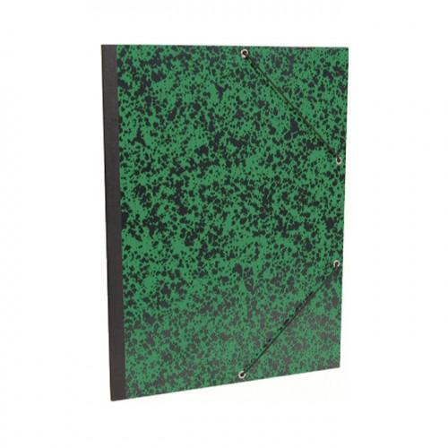 Carton de rangement pour papier Annonay 28x38 cm - Vert