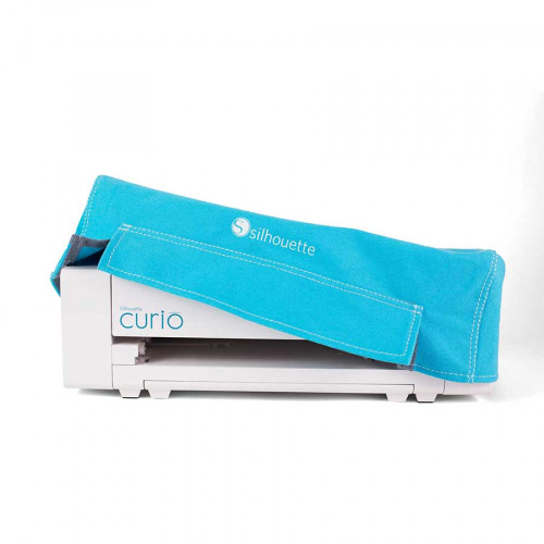 Housse bleue pour machine Curio