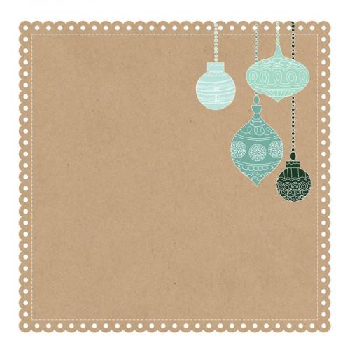 Mint Wishes - Papier spécial Die cut Gingerbread Cookie
