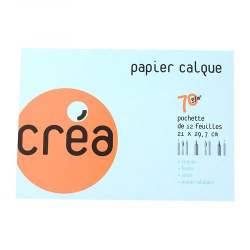 Papier calque - 70 g/m² - A4