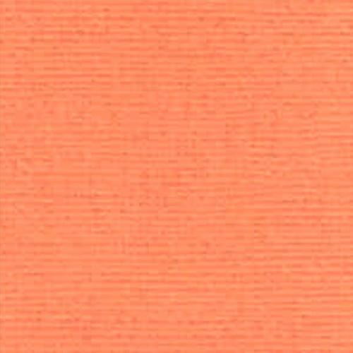Papier uni - pêche - 30,5 x 30,5 cm