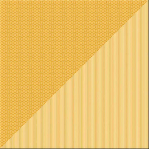 Daisy-Stripe - Papier Tangerine