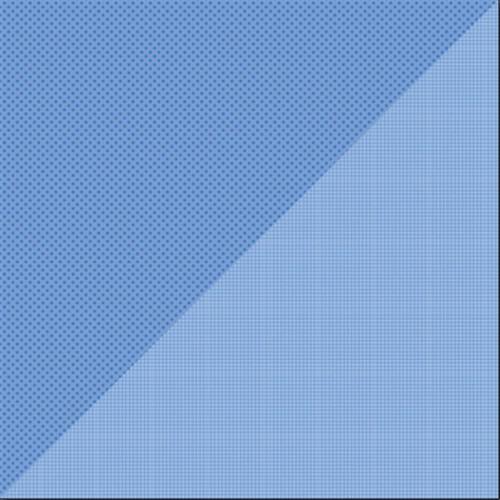 Dot-Grid - Papier Blue Jeans
