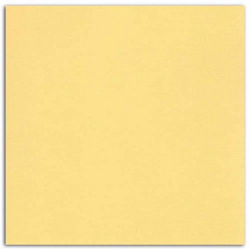 Papier uni - jaune pastel