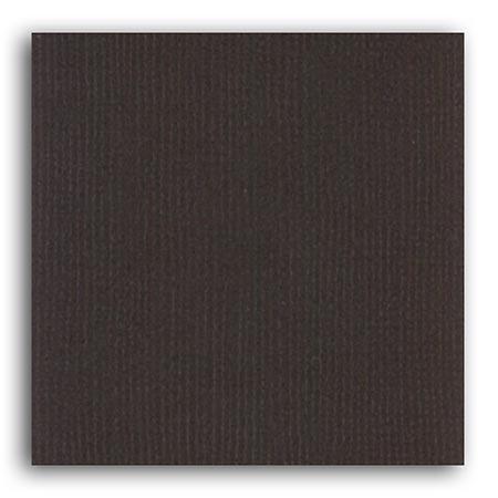 Papier uni - Chocolat Noir