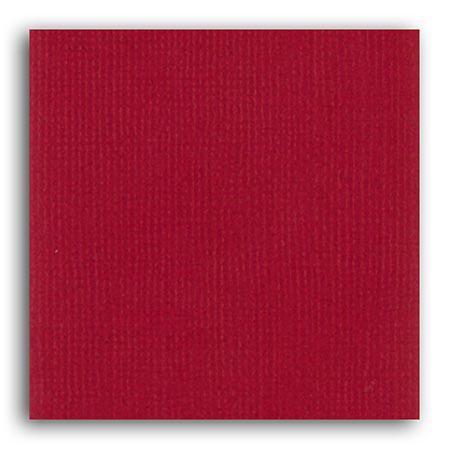 Papier uni - Rouge Cerise