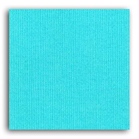 Papier uni - Bleu Piscine