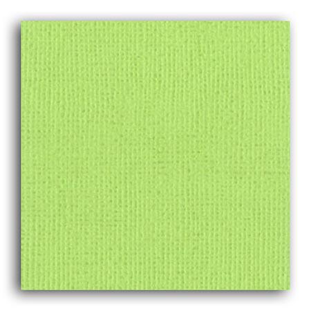 Papier uni - Vert Anis