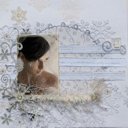Papier - Bazzill Paper - White