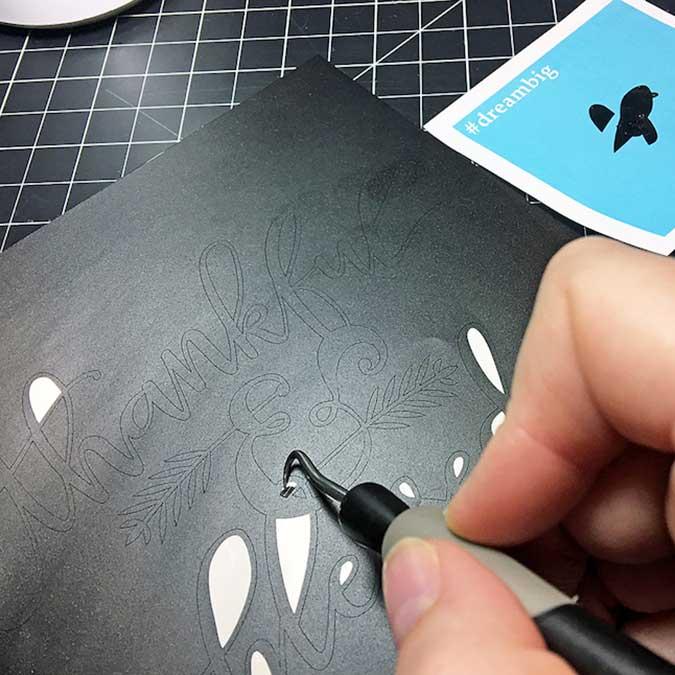 Cardstock adhésif - 30,5 x 30,5 cm - vert menthe
