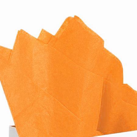 Papier de soie 18g/m² x8f. - Abricot - 50 x 75 cm