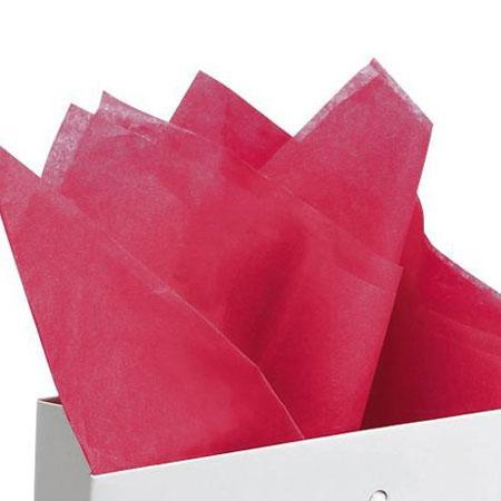 Papier de soie 18g/m² x8f. - Cyclamen - 50 x 75 cm
