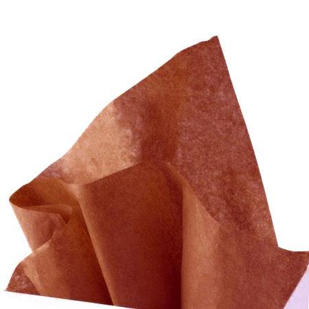 Papier de soie 18g/m² x8f. - Cuivre - 50 x 75 cm