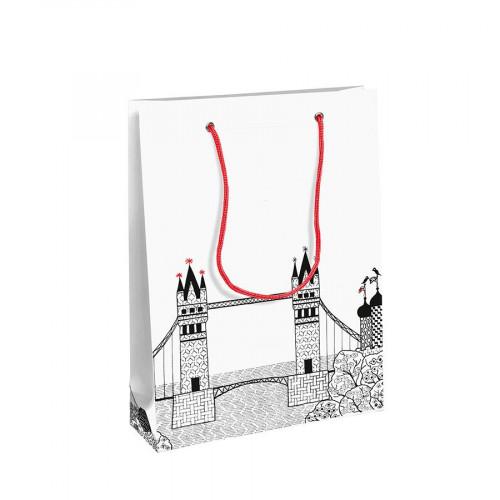 Charlene Mullen - Sac en papier - taille M - 19 x 10 x 25 cm