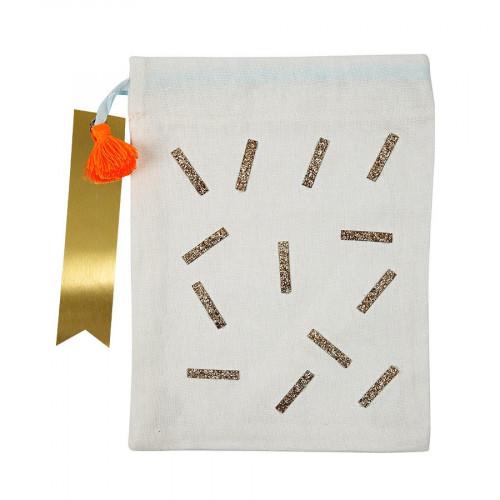 Petits sacs en tissu - Sprinkles - 4 pcs