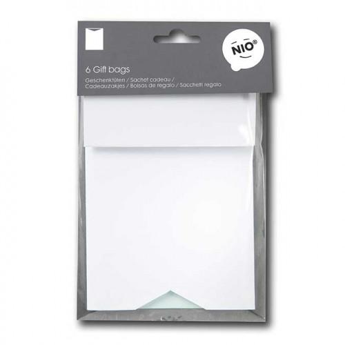 NIO mint - 6 sachets en papier - 11,5 x 17 x 0,6 cm