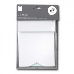6 sachets en papier - 11,5 x 17 x 0,6 cm
