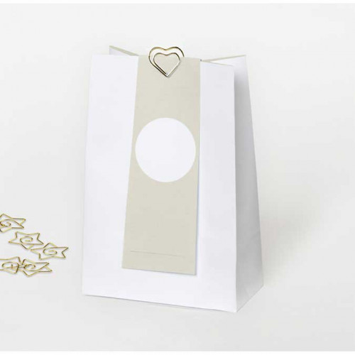 NIO kraft - 6 sachets en papier - 11,5 x 17 x 0,6 cm