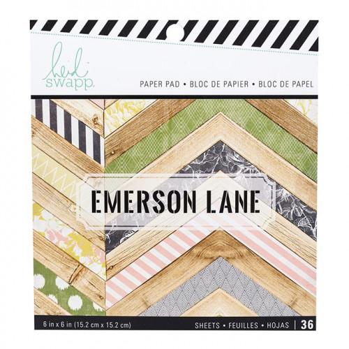Emerson Lane Bloc de papiers 15 x 15 cm