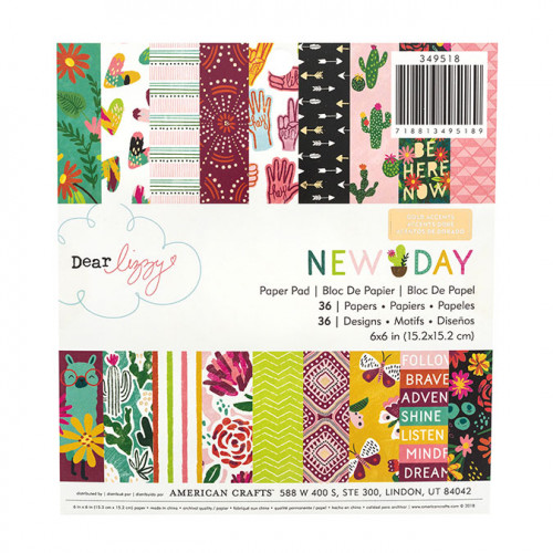 New Day Papiers assortis 15 x 15 cm