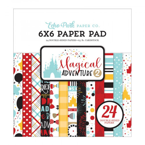 Magical Adventure 2 Bloc de papiers 15 x 15 cm