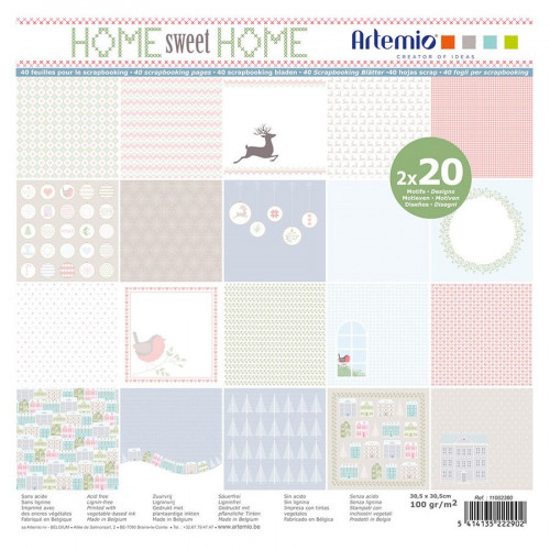 Home Sweet Home - Papiers assortis