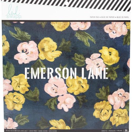 Emerson Lane Bloc de papiers 30,5 x 30,5 cm