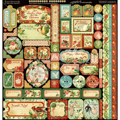 12 Days of Christmas Kit Deluxe Collectors Edition