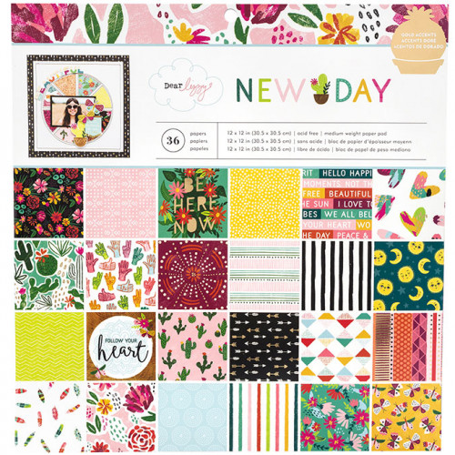 New Day Papiers assortis 30,5 x 30,5 cm