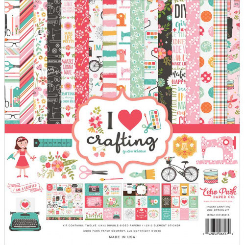 I Heart Crafting Kit de collection
