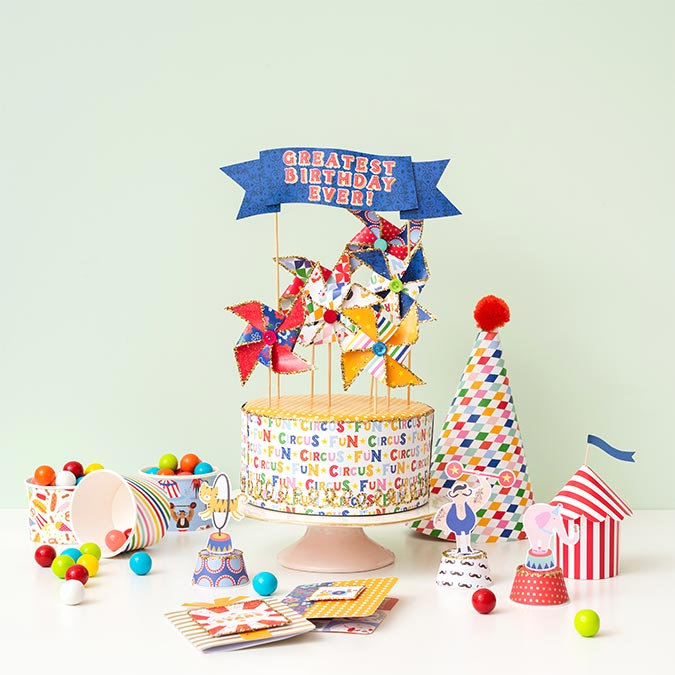 Big Top Dreams Bloc de papiers 30,5 x 30,5 cm