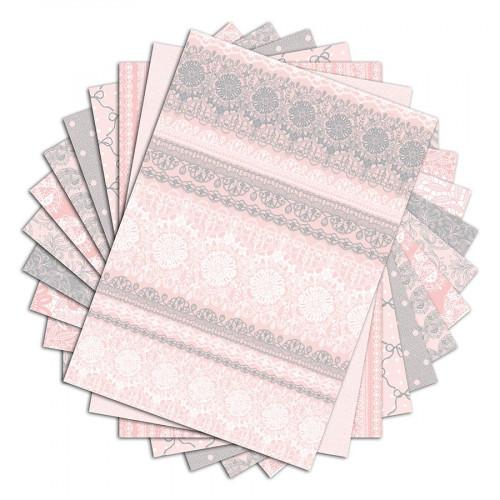 Color Factory - Dentelles - 48 feuilles A4 imprimées