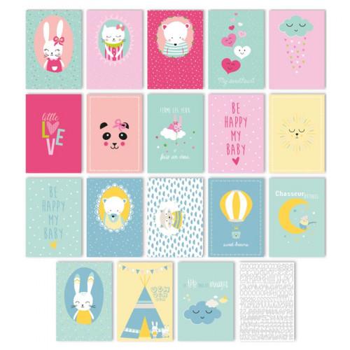 Bloc Déco My Little Love - 18 affiches A4