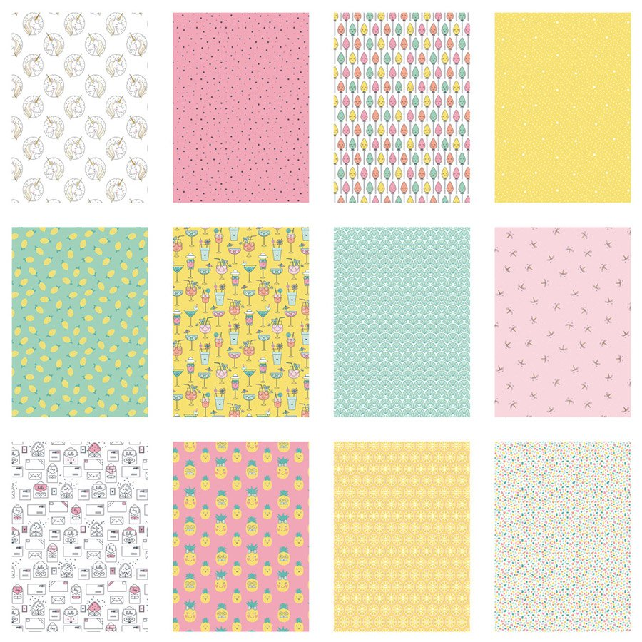Color Factory Happy Days - A4 - 48 feuilles