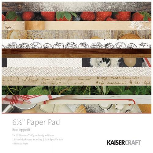 Bon Appetit - Paper Pad - 6,5 x 6,5