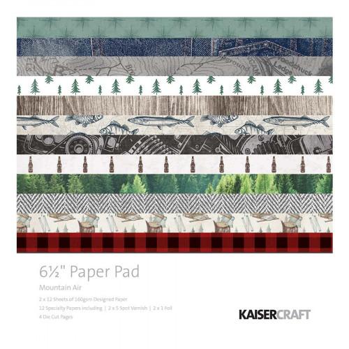 Bloc de papiers 16,5 x 16,5 cm Mountain Air