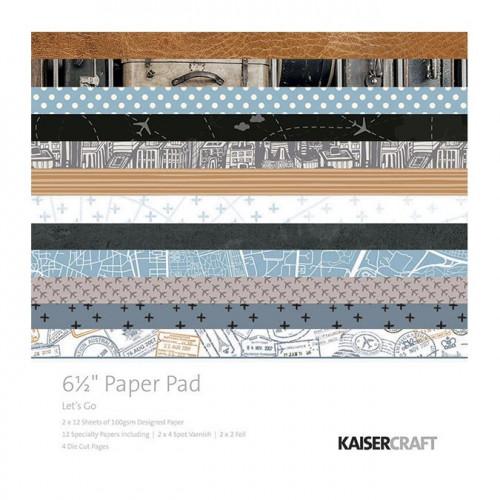 Let's Go Bloc de papiers 16,5 x 16,5 cm