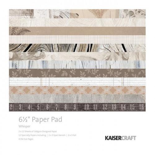 Whisper Bloc de papiers 16,5 x 16,5 cm