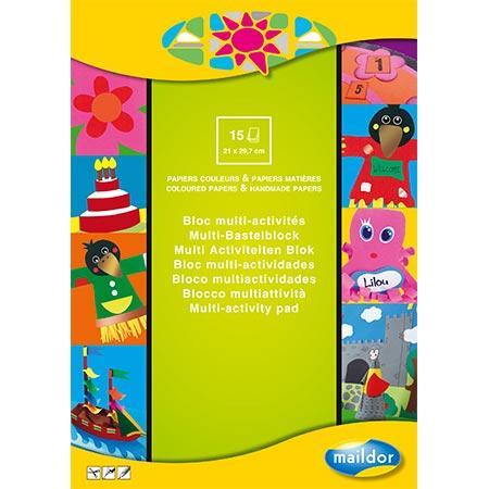 Bloc multi-activités - A4 - 15 feuilles