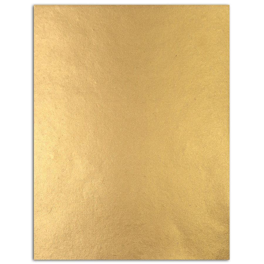 L'Or de Bombay - Couleurs vives - 6 feuilles de papier recyclé - 27,8 x  21,6 cm