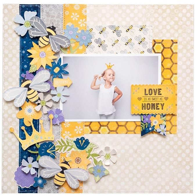 Bee-utiful You Bloc de papiers - 15 x 20 cm