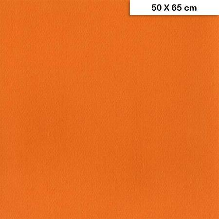 Etival - Papiers dessin à grain couleur - 160g - 50 x 65 cm - Orange